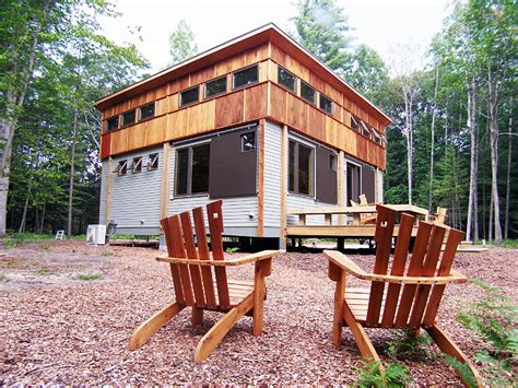 cottages in traverse city compact modular pre fab cottage made from local materials