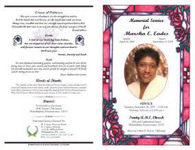 create funeral programs best photos of create free funeral program free sle funeral program templates free funeral