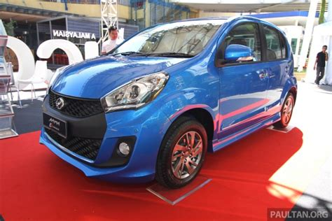 biru myvi 2015 perodua myvi facelift spec by spec comparison