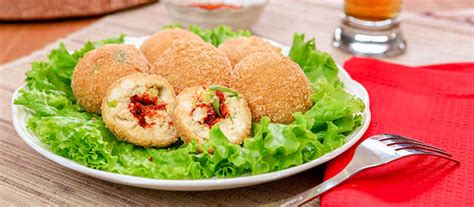 Bumbu Masak Terasi Vegetarian Vegan Bulat tahu bulat isi boncabe resep dari dapur