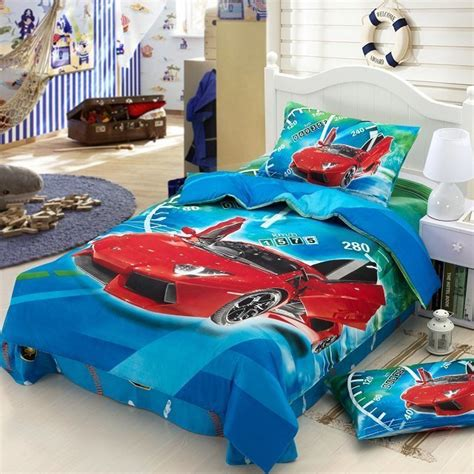 race car bedroom sets race cars kids boys cartoon baby bedding set children twin