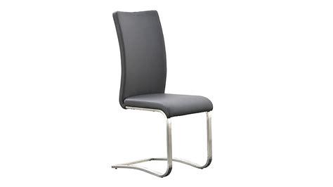 stuhl freischwinger stuhl arco freischwinger 6er set in grau und edelstahl