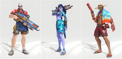 new year overwatch 2017 overwatch summer event returns with new skins rock