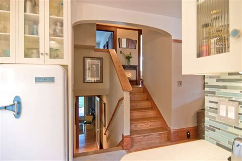 modern traditions split level connections traditional staircase san francisco by
