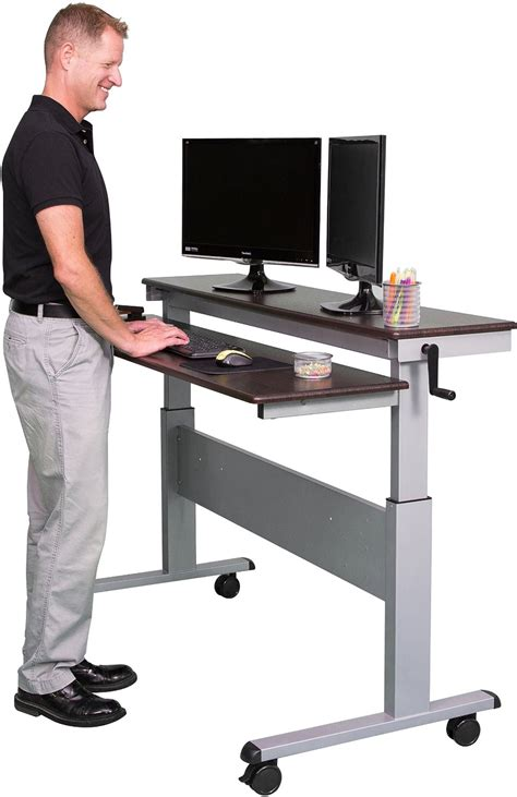 best stand up desk stand up desks 60 inch crank adjustable stand up desk