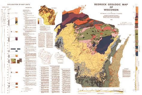 wisconsin its geography and topography history geology and mineralogy together with brief sketches of its antiques history soil population and government classic reprint books wisconsin geological history survey 187 bedrock