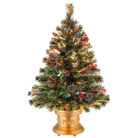 3 ft fiber optic xmas tree national tree company 3 ft fiber optic fireworks artificial tree szfx7 158l 36 1