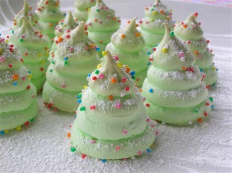 how to make christmas tree meringues home design garden