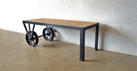 Second Charm: INDUSTRIAL FURNITURE 1: COFFEE TABLES AND SIDETABLES