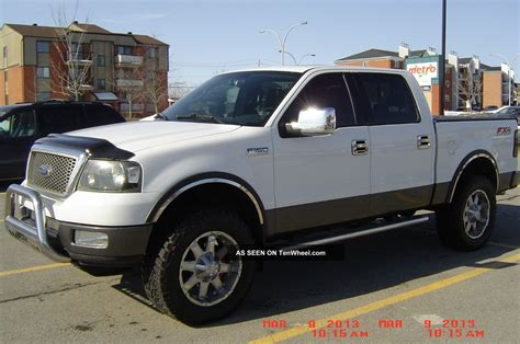 2004 ford f 150 fx4 crew cab 4 door 5 4l