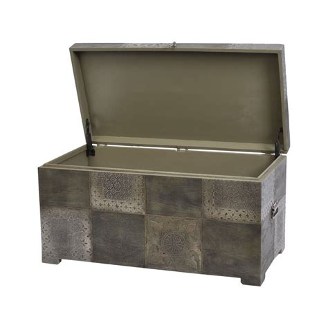 storage trunk storage coffee table swanky interiors