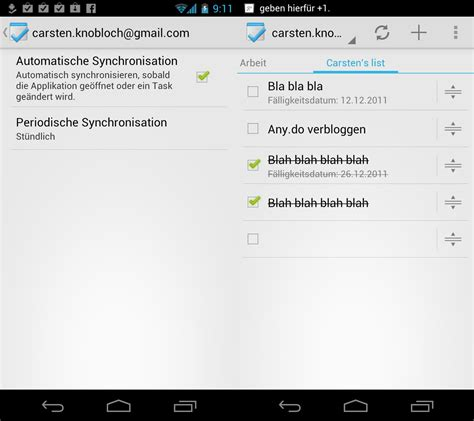 tasks android tasks android taskplaner mit tasks synchronisation