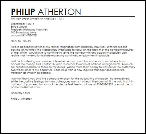 emotional up letter emotional resignation letter resignation letters