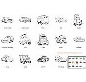 Dibujos  Fondos De Escritorio Imagenes Personajes Cars Para