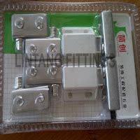 Murah Handle Tarikan Lemari Tarikan Laci Cabinet Handle E5039 2 engsel pivot kaca set magnet kaca lintang fittings