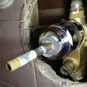 Tuscany Faucet Parts Plumbing How Can I Fix A Shower Faucet Valve Where