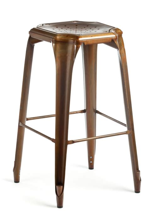 Copper Counter Stool by Cheval Counter Stool Antique Copper Furniture