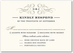 formal wedding reception card wording 5 types of wedding rsvp card wording response cards and wedding rsvp