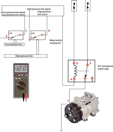 auto air conditioner wiring diagrams free