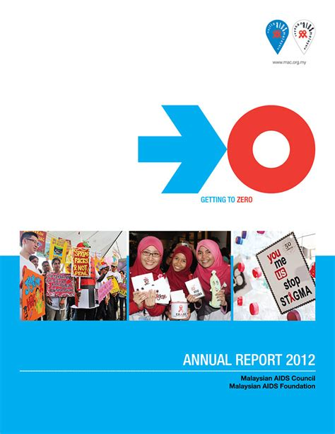 2012 Annual Report by Annual Report 2012 Malaysian Aids Council