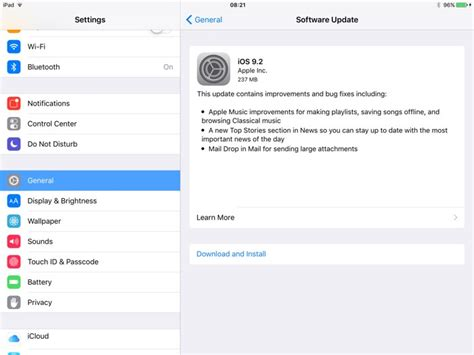 update the ios software on your iphone ipad and ipod touch apple releases ios 9 2 software update for iphone and ipad