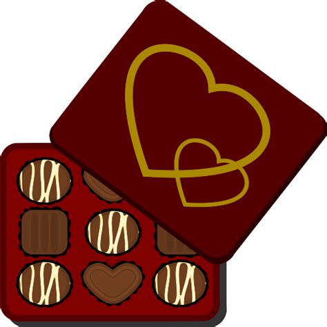 chocolate clipart box of chocolates clipart panda free clipart images