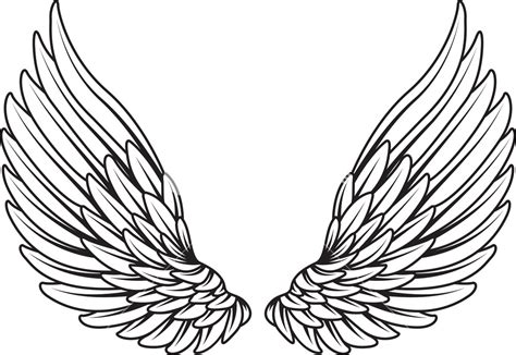 chest tattoo vector wings vector element royalty free stock image storyblocks