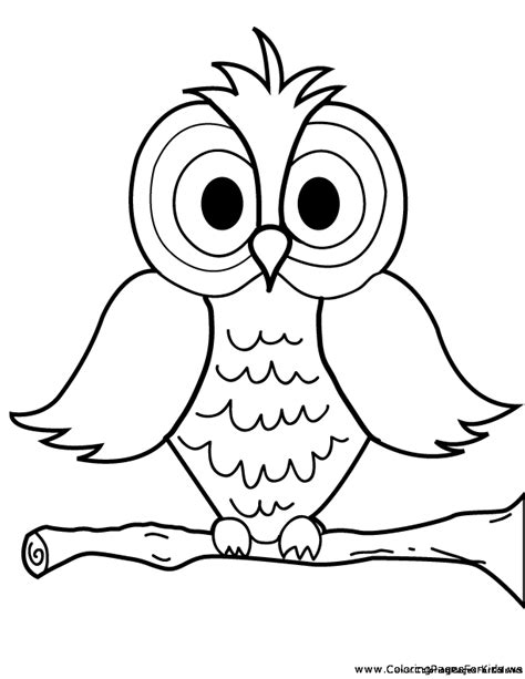 barred owl coloring page pictures of cute cartoon owls cliparts co