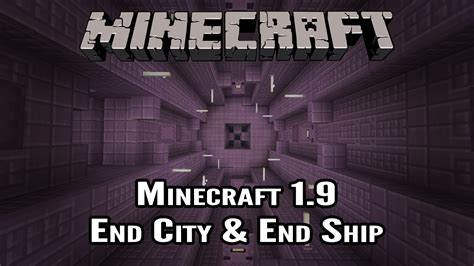 How To Search By City Minecraft 1 9 How To Find The End City End Ship Minecraft