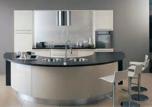 fotos curved kitchen island units