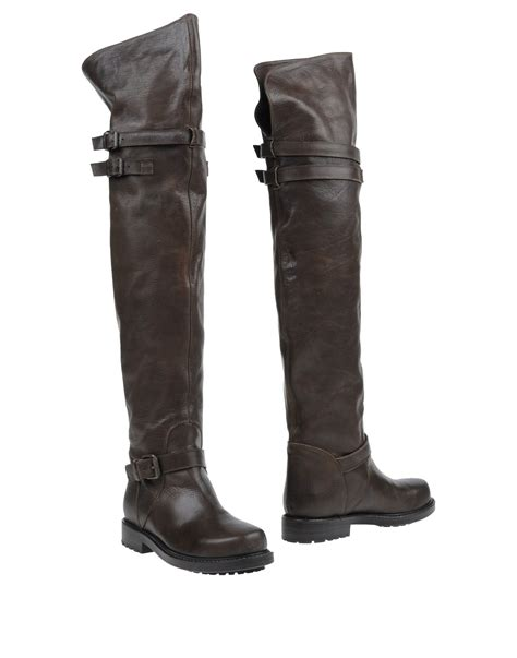 buttero boots buttero boots in brown brown lyst