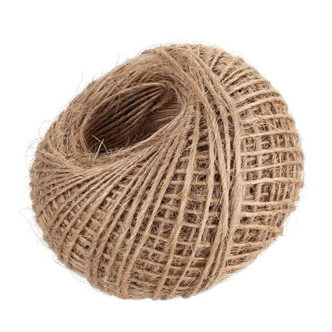 Hemp Rope Tali Rami new 100m jute twine burlap string hemp rope wedding gift wrapping cords thread in cords