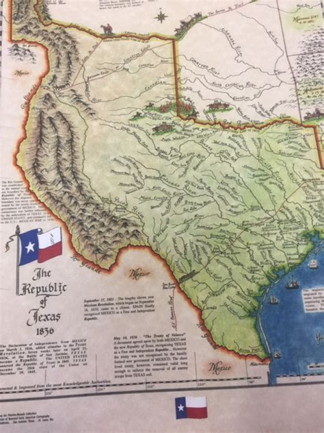 map of republic of texas in 1836 large republic of texas 1836 map texas statehood 1845 map texas 1850 map texana print
