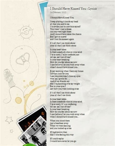 you should ve seen it in color lyrics the gallery for gt one direction you and i lyrics
