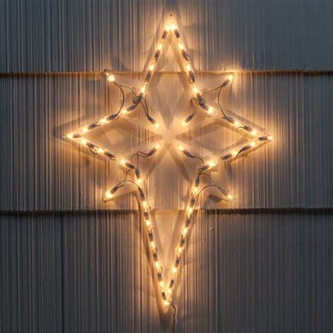Nativity Star Lighted Christmas Star Star Decoration Lighted Of Bethlehem Outdoor