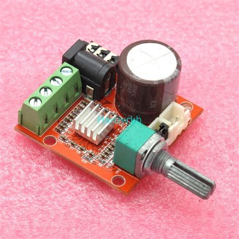 Lifier Class D Pam8610 mini digital lifier module 10w 10w class d 2 channel audio dc 12v car ebay
