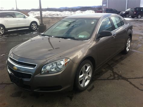 Outside Ls by 2012 Chevrolet Malibu Pictures Cargurus