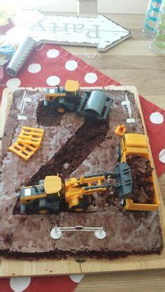 baustellen le baustellen kuchen zum 2 geburtstag kindergeburtstag
