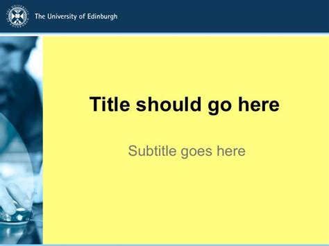 powerpoint layout uni heidelberg powerpoint templates the university of edinburgh