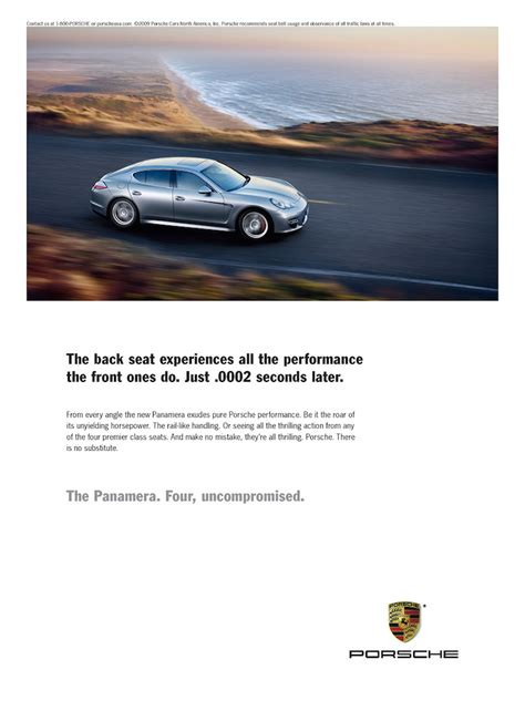 porsche ads 100 brilliant ads that grab your attention with clever