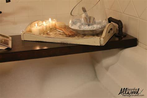 bathtub tray caddy diy bath caddy also known as bath tray bath shelf toy