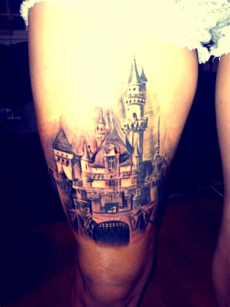 disney castle tattoo disney by orlando in sparks nv disney
