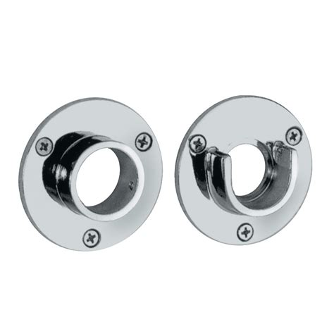 shower curtain rod flanges gatco flange pair shower rod atg stores