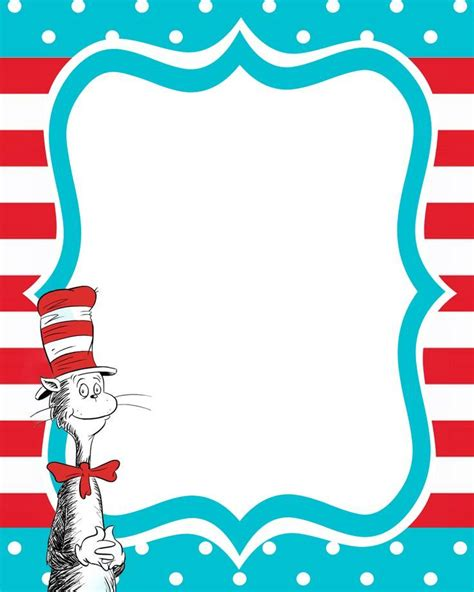 dr seuss templates dr seuss borders template search results calendar 2015