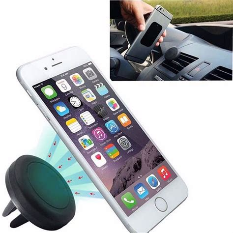 New 360 Degree Magnetic Car Air Vent Mount Holder 151005 360 degree universal car holder magnetic air vent mount