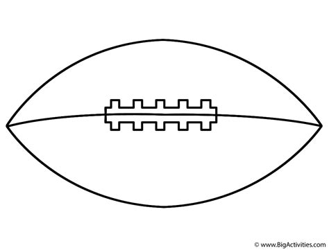 coloring page football football side coloring page super bowl