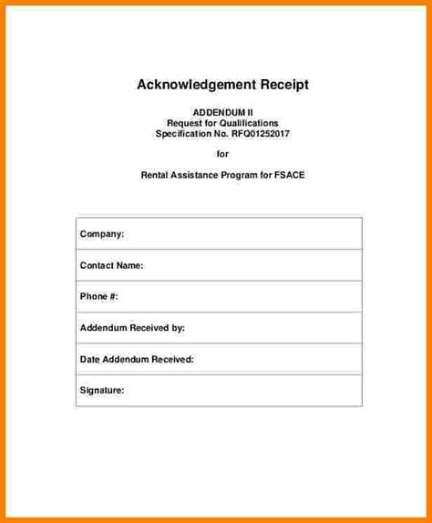 Template For Receipt Of Rent Payment by 7 Acknowledgement Receipt Of Payment Template Sales
