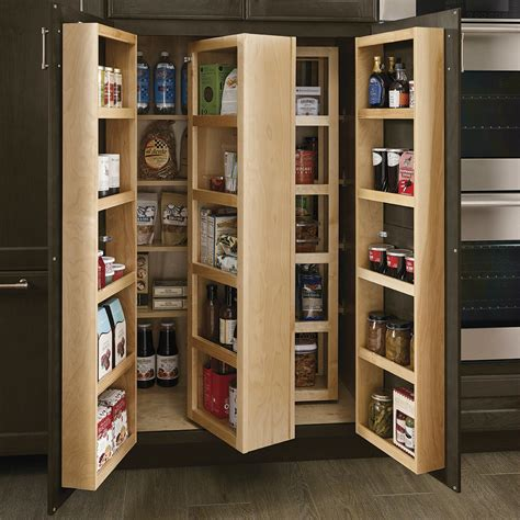 28 kraftmaid multi storage kitchen wall maple