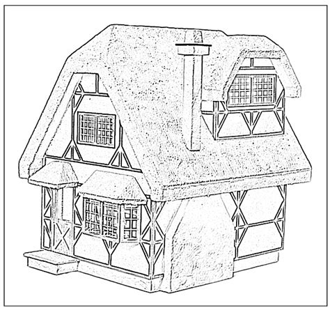 coloring pages for doll house cottages coloring pages doll house coloring book