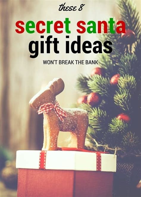 secret ideas inexpensive secret santa gift ideas canvas factory